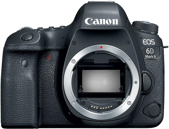 Câmera Canon 6D Mark II