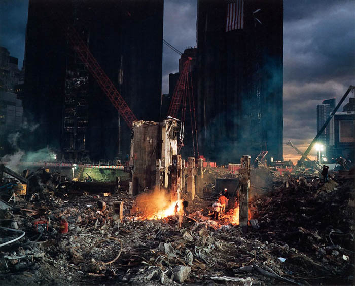 Joel Meyerowitz photo from his 9/11 Aftermath project