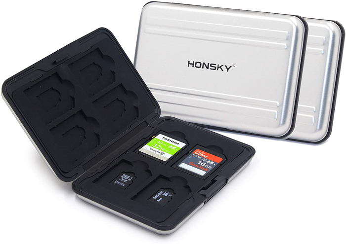 Image of the Honsky Aluminum Water-Resistant Memory Card Holder