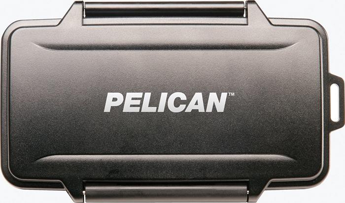 Imagem da caixa do cartão de memória Pelican 0945 Compact Flash