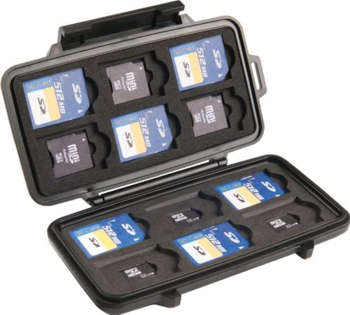 Image of the Pelican 0915 SD Memory Card Case