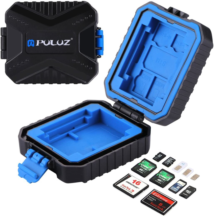 Image of the Puluz Water-Resistant Memory Cards Case