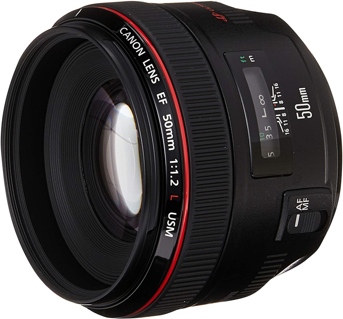 Image of the Canon EF 50mm f/1.2L
