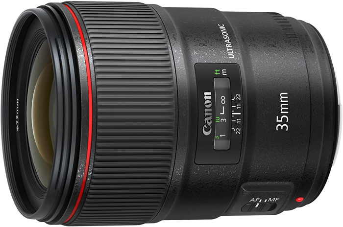 Image of the Canon EF 35mm f/1.4L II USM