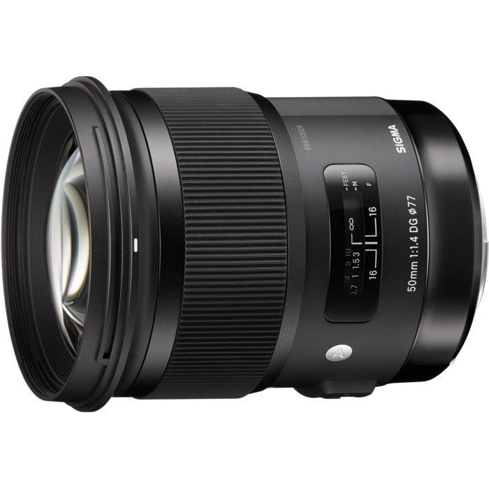 Image of the Sigma 50mm F1.4 DG HSM Art