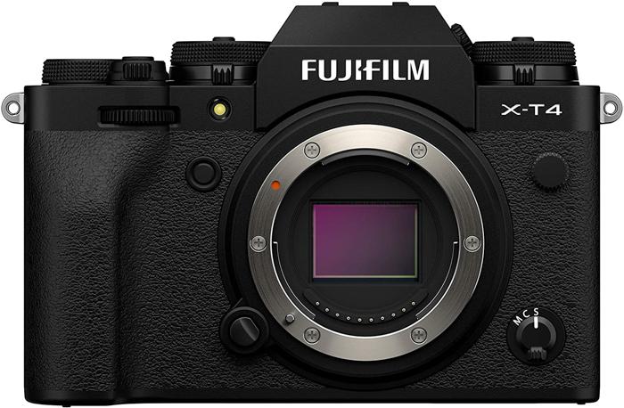 an image of a Fujifilm X-T4