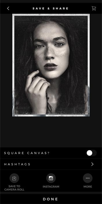 Screenshot Carbon app demo portrait