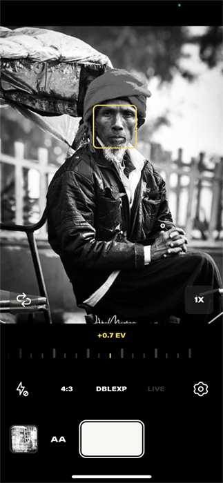 Screenshot Argentum app Indian taxi driver