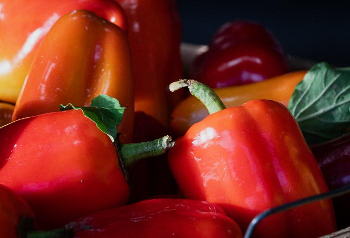 peppers editado lightroom clássico